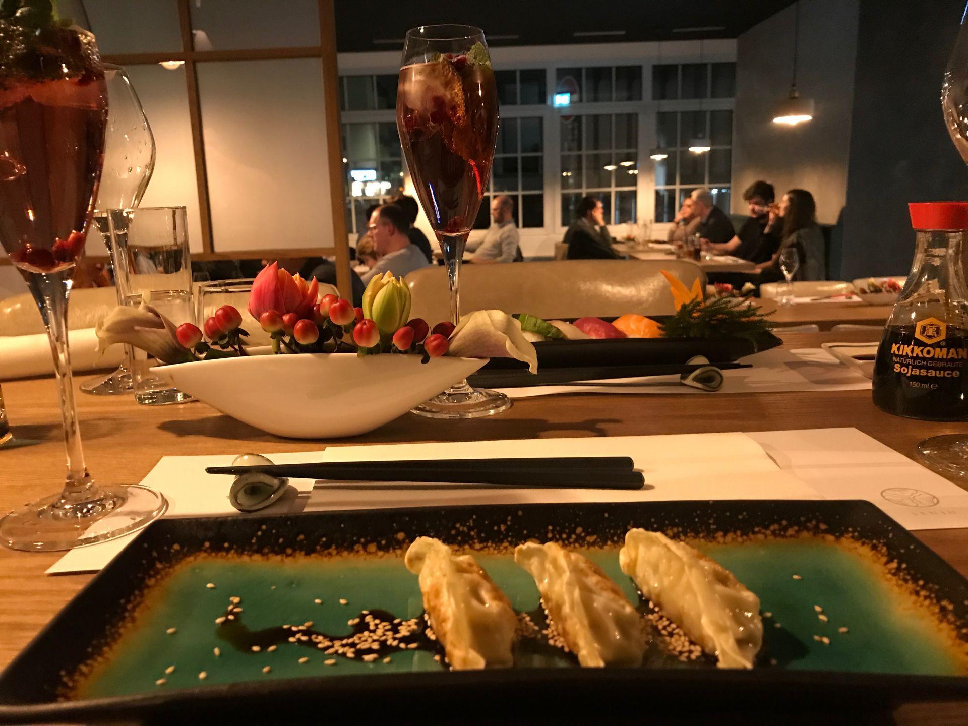 Senju Mannheim Japanische Kuche Auf Hohem Niveau Delta Im